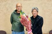 林田 雅至 COデザインセンター教授 送別セレモニーが行われました